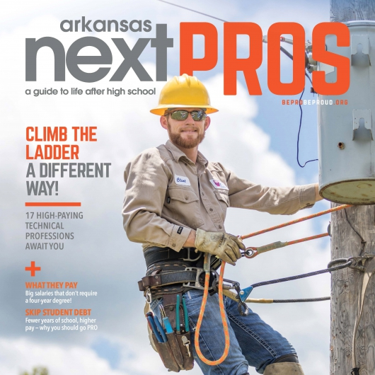 NAEC lineman featured in magazine