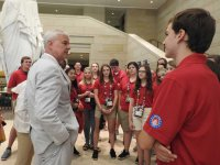 U.S. Capitol with Rep. Steve Womack
