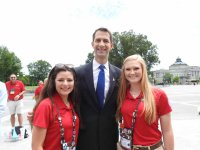 U.S. Capitol with Sen. Tom Cotton